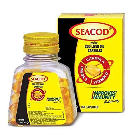 Seacod Cod Liver Oil Capsule