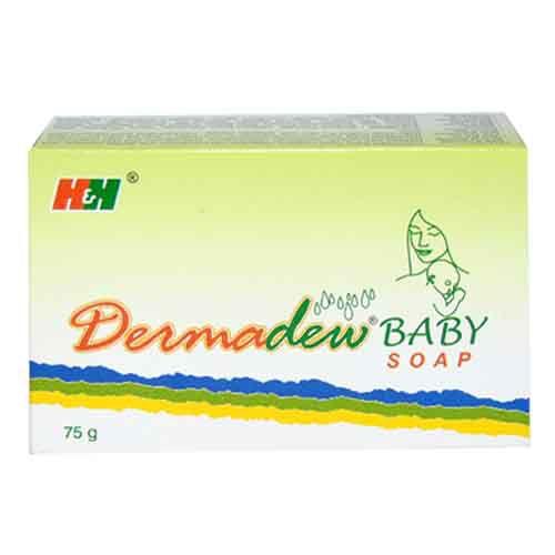 DERMADEW BABY SOAP 75  GM -Hegde And Hegde Pharmaceutical Company