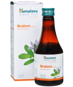 HIMALAYA Wellness Pure Herbs Brahmi Mind Wellness Syrup PACK of 2