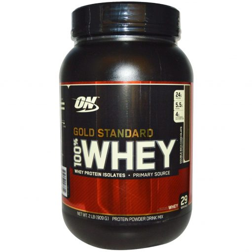 3334e56f0 OPTIMUM NUTRITION Gold Standard 100% Whey Double Rich Chocolate 2 lbs(909gm)