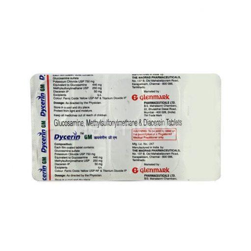 Dycerin gm Tablet_GLENMARK PHARMA