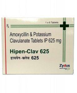 Hipen Clav 625 Tablet