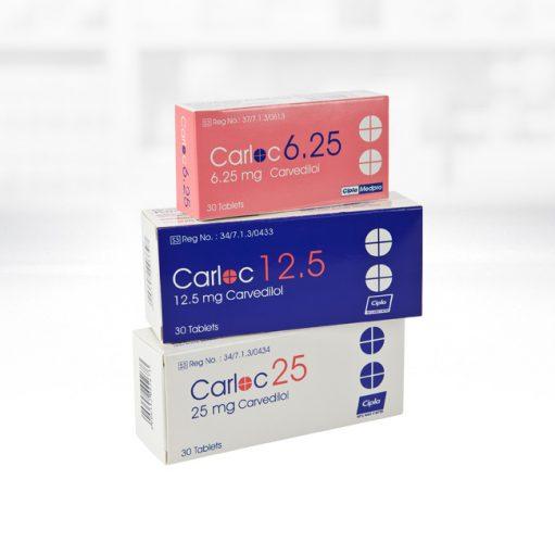Carloc 3.125 mg jeep