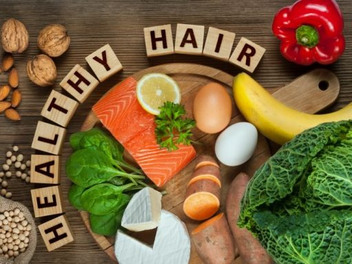Foods For Healthier Hair