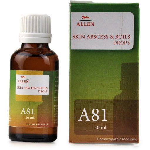 Allen A81 skin abscess and boils drop