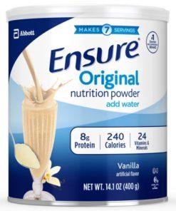 Ensure powder vanilla