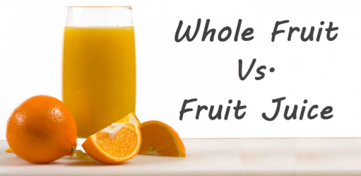 Fruit Juice and Whole Fruits: Which is better & Why?