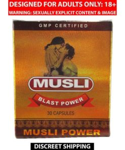 Dr Chopra Musli Blast Power Capsule