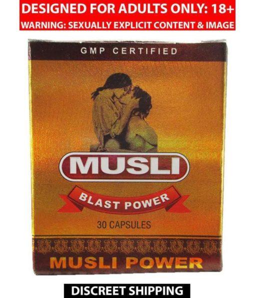 Dr Chopra Musli Blast Power Capsule
