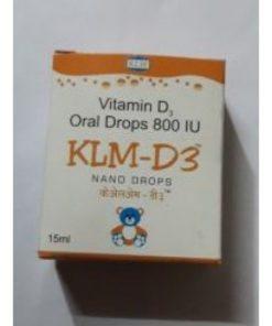 KLM D3 Nano Drops