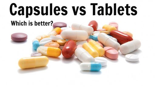 Difference Between Tablets vs Capsules