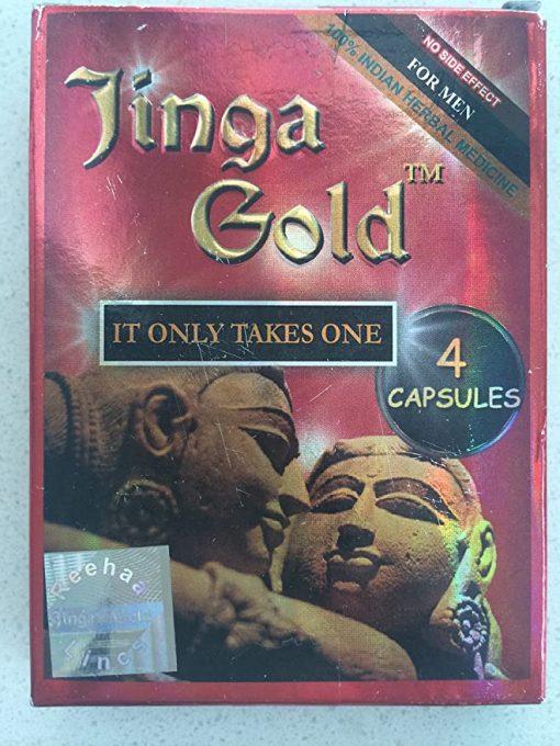 Reeha Herbals Jinga Gold Capsules