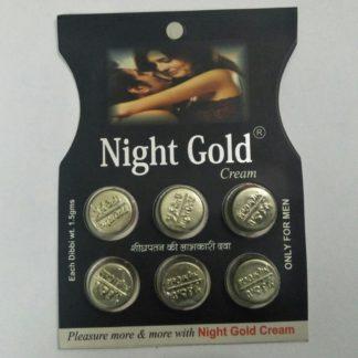 Night Gold Delay Cream
