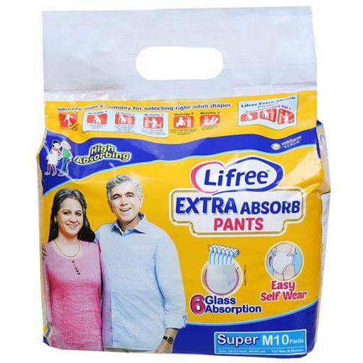 Lifree Extra absorb Pants Medium Size
