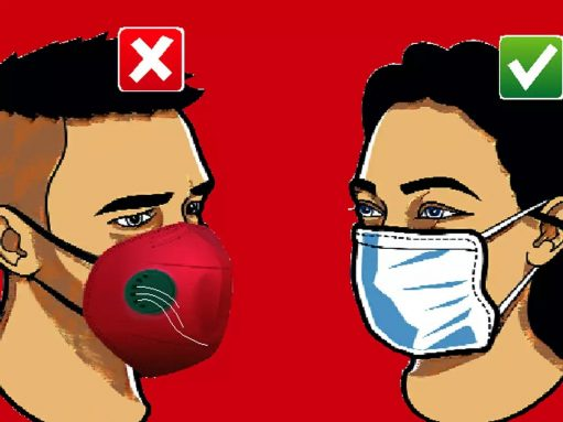 Why do some masks have valves and why are they being banned?
