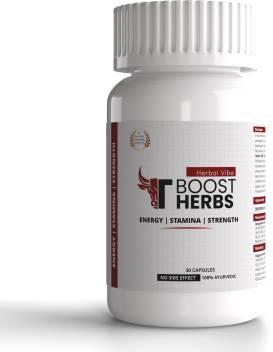 Herbal Vibe Boost Herbs Capsule